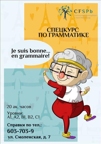 спецкурс по грамматике французского